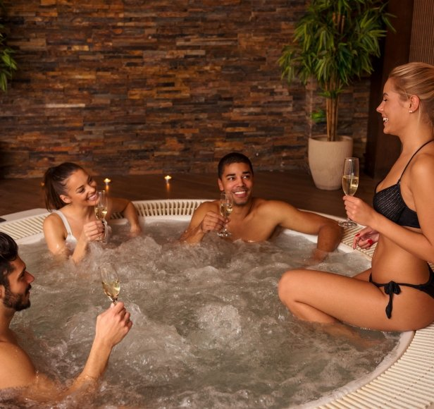 How do you clean the jacuzzi?