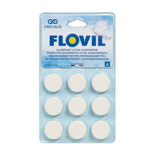 Flovil Flocculant - 9 tablets | Webshop.swimmingpools.be