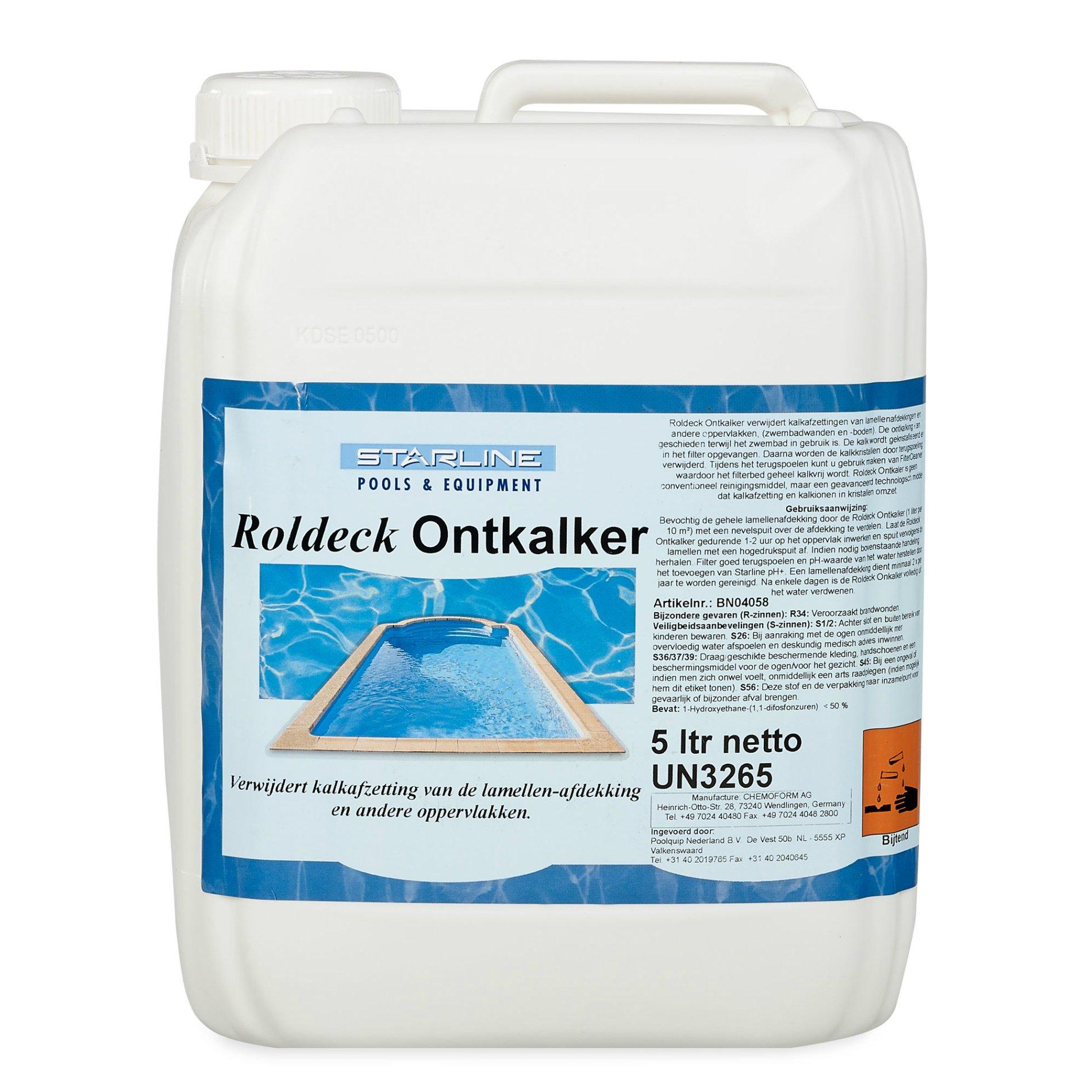 Starline Roldeck descaling product - 5 L   Swimming Pools Webshop