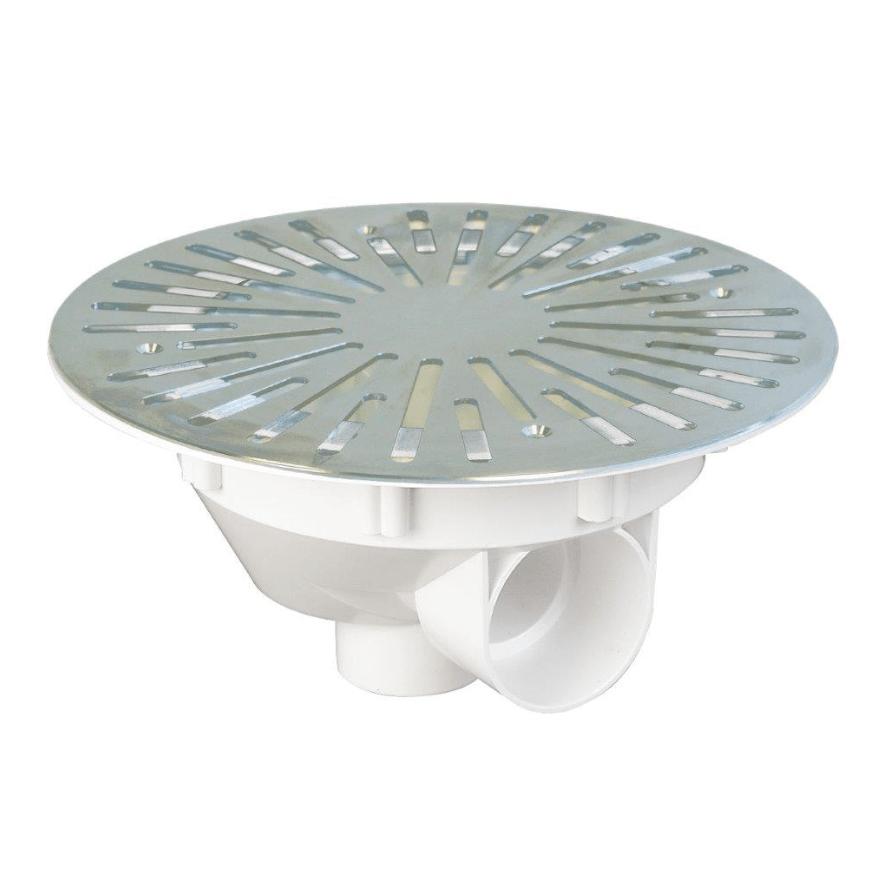 Piscine En Inox Steel And Style stainless steel vacuum bottom drain | webshop.swimmingpools.be