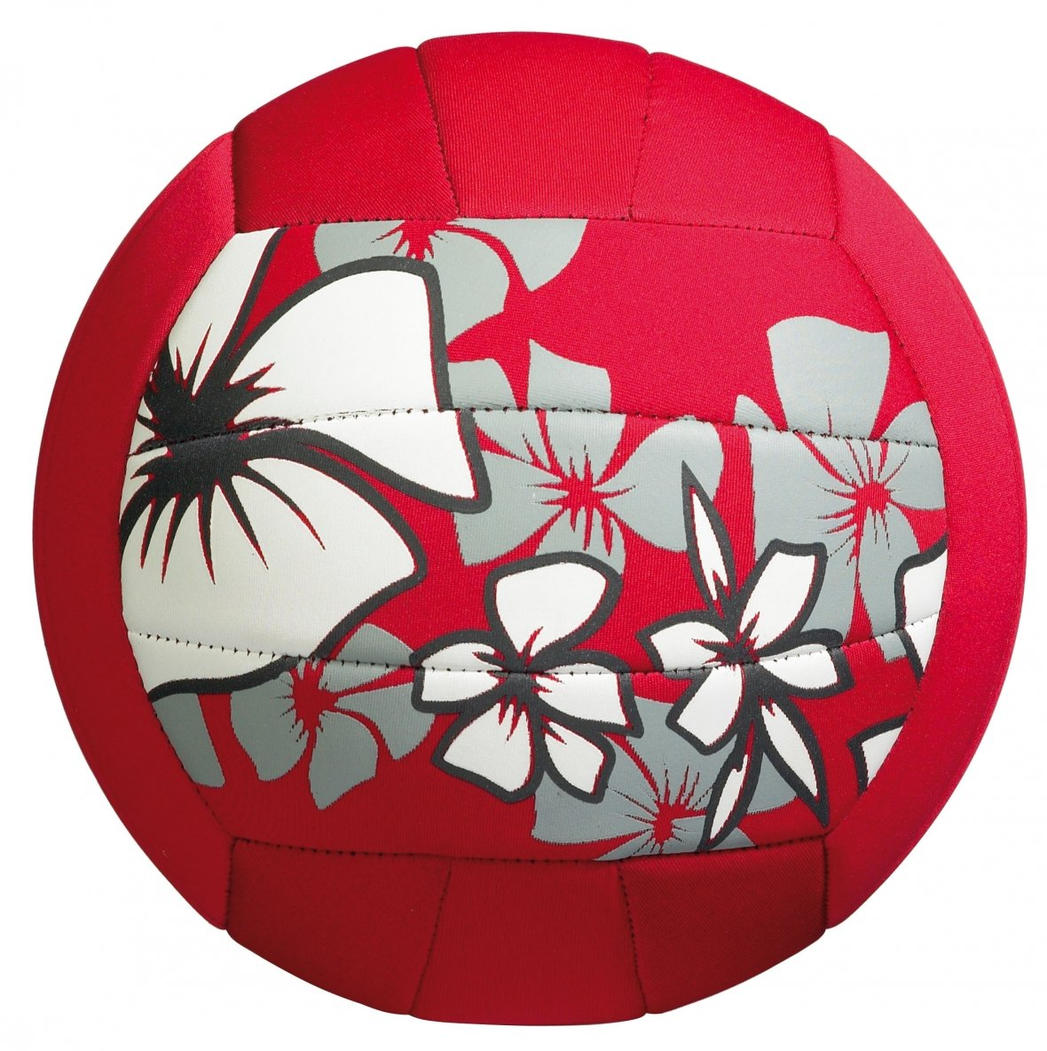 Large beach ball, red