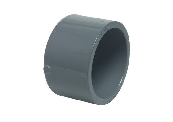 PVC glued end cap