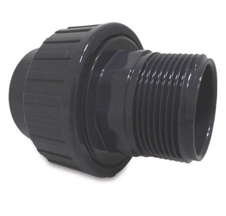PVC 63 mm x 2