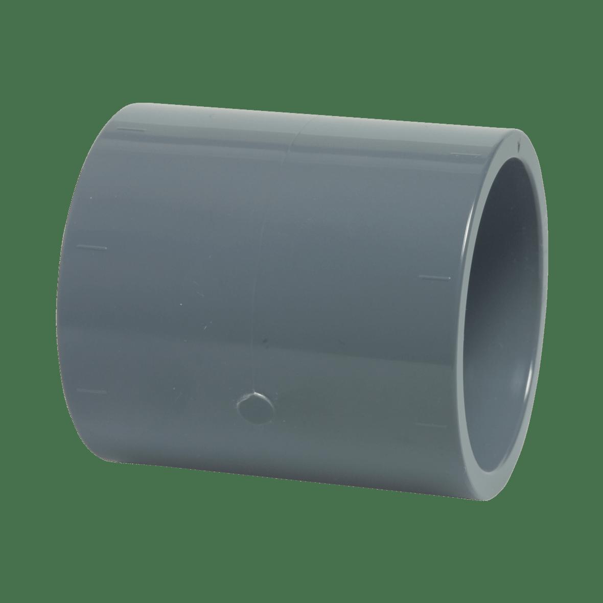 50 mm diameter PVC socket