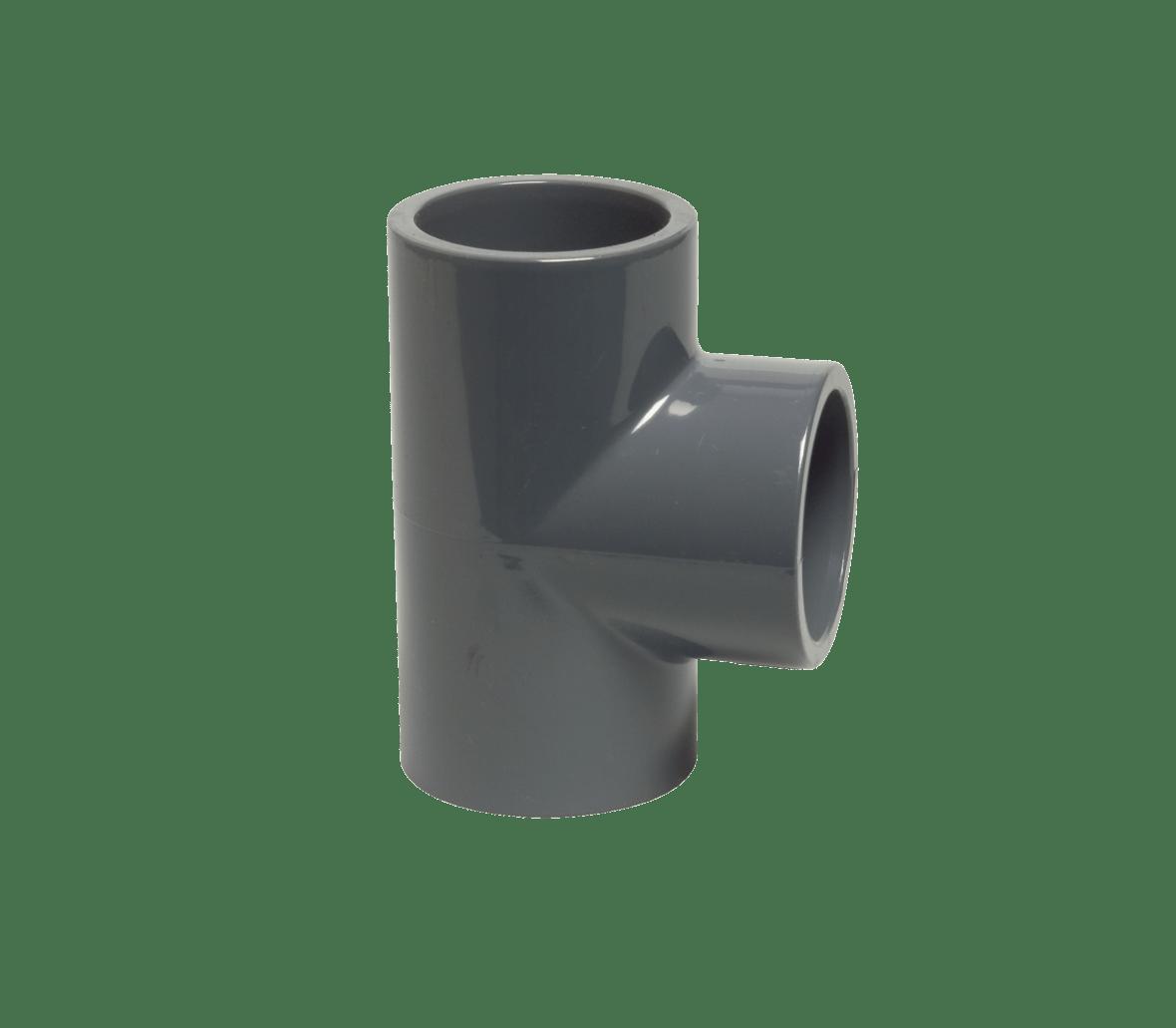 50 mm diameter PVC T-piece