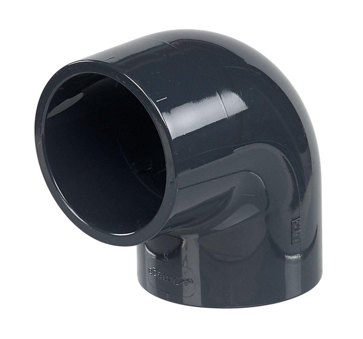 PVC 90° elbow diameter 50mm