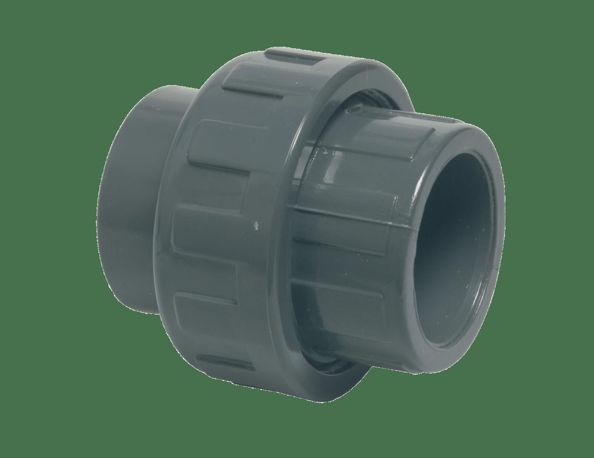 PVC coupling Ø50 3-part