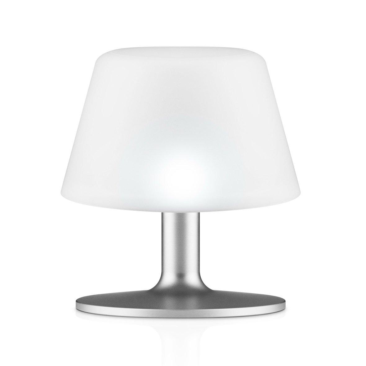 Table lamp on solar energy