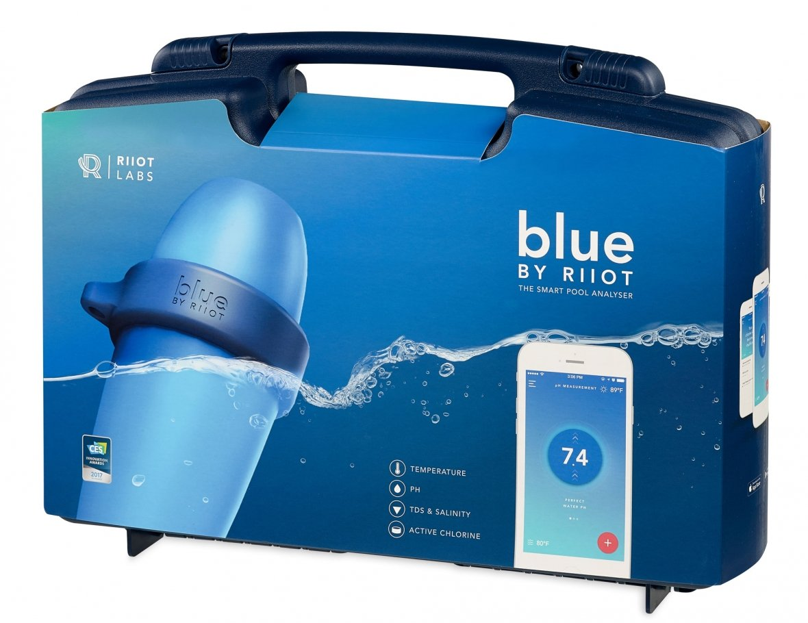 Blue by Riiot intelligent water tester