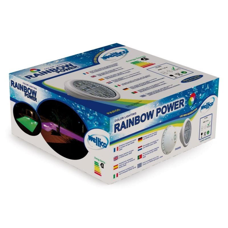 RGB-colour LED Weltico 28 W