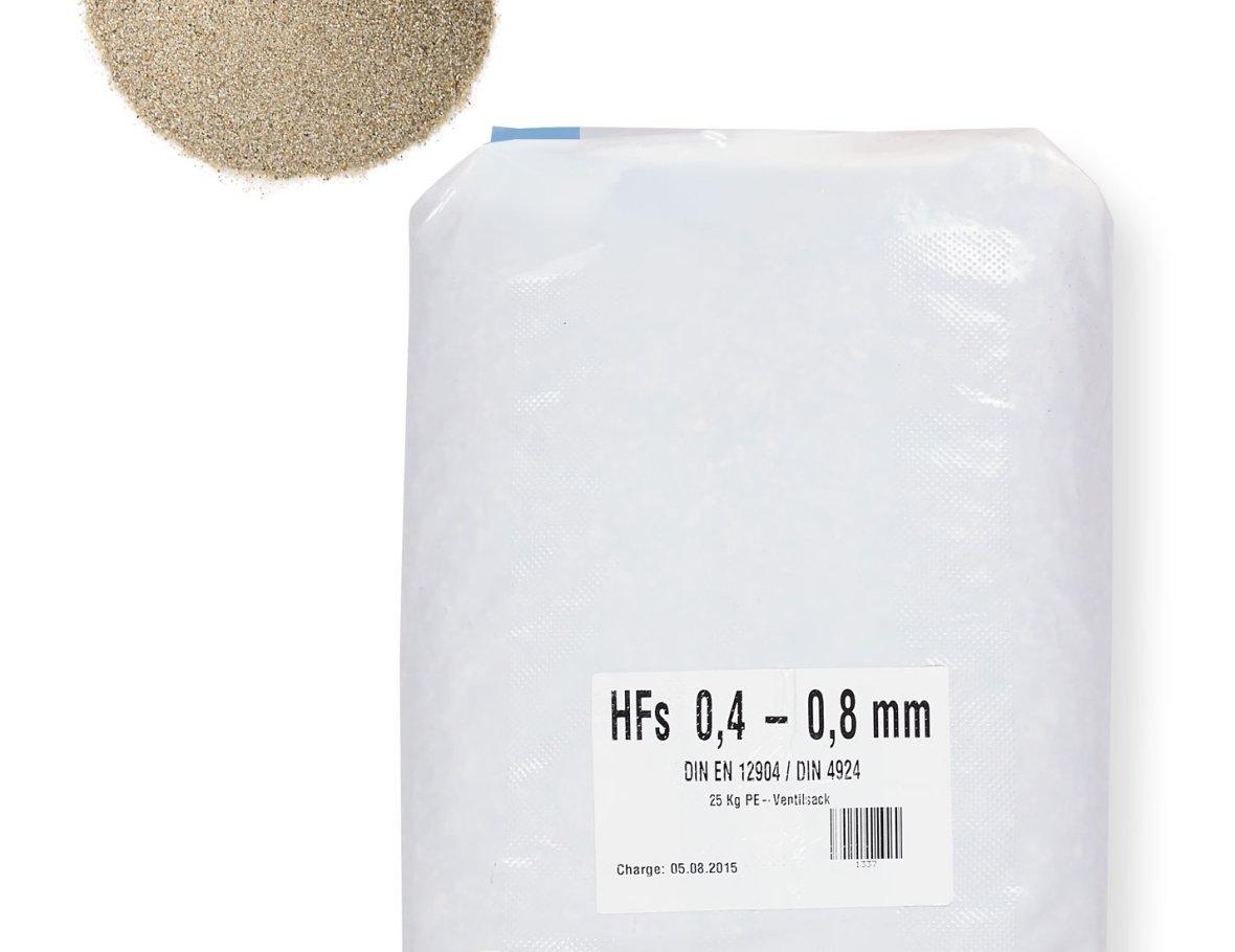 Filter sand poolfilter