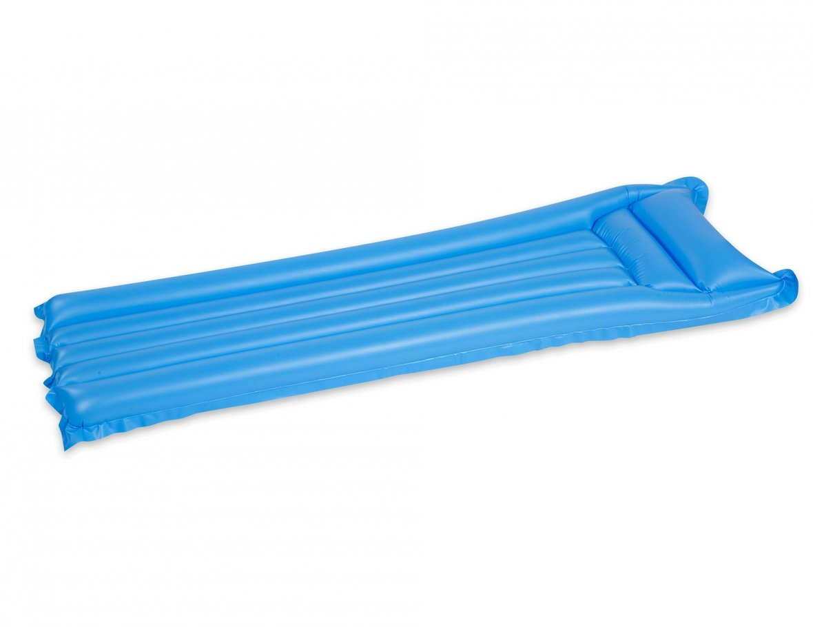 Inflatable plastic air mattress