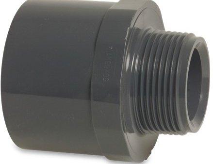 PVC adapter ø50 x 1 1/2