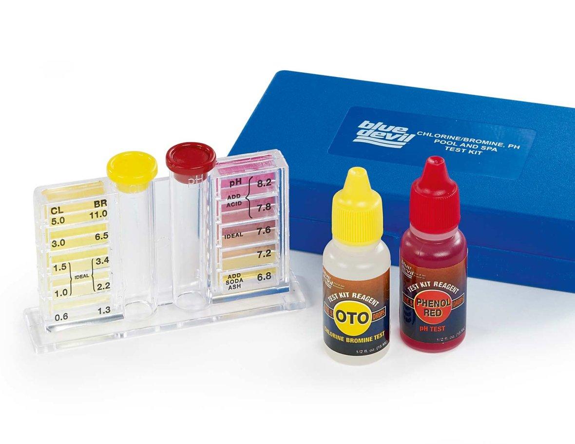 Oto & pH 3-way test kit