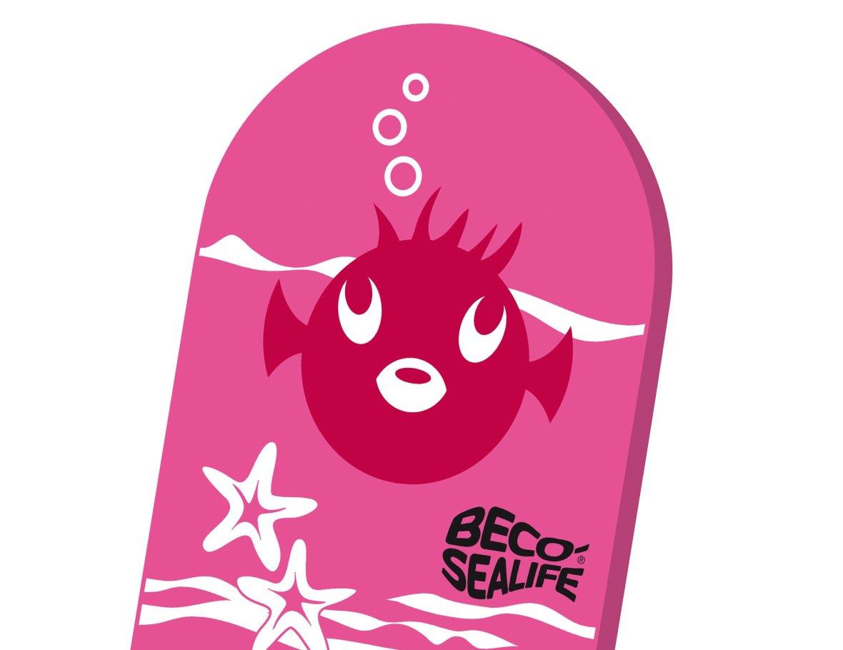 Pink kickboard