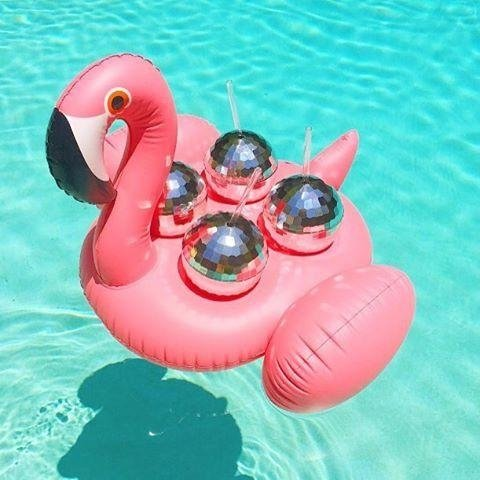 Flamingo drinks holder | Sunnylife