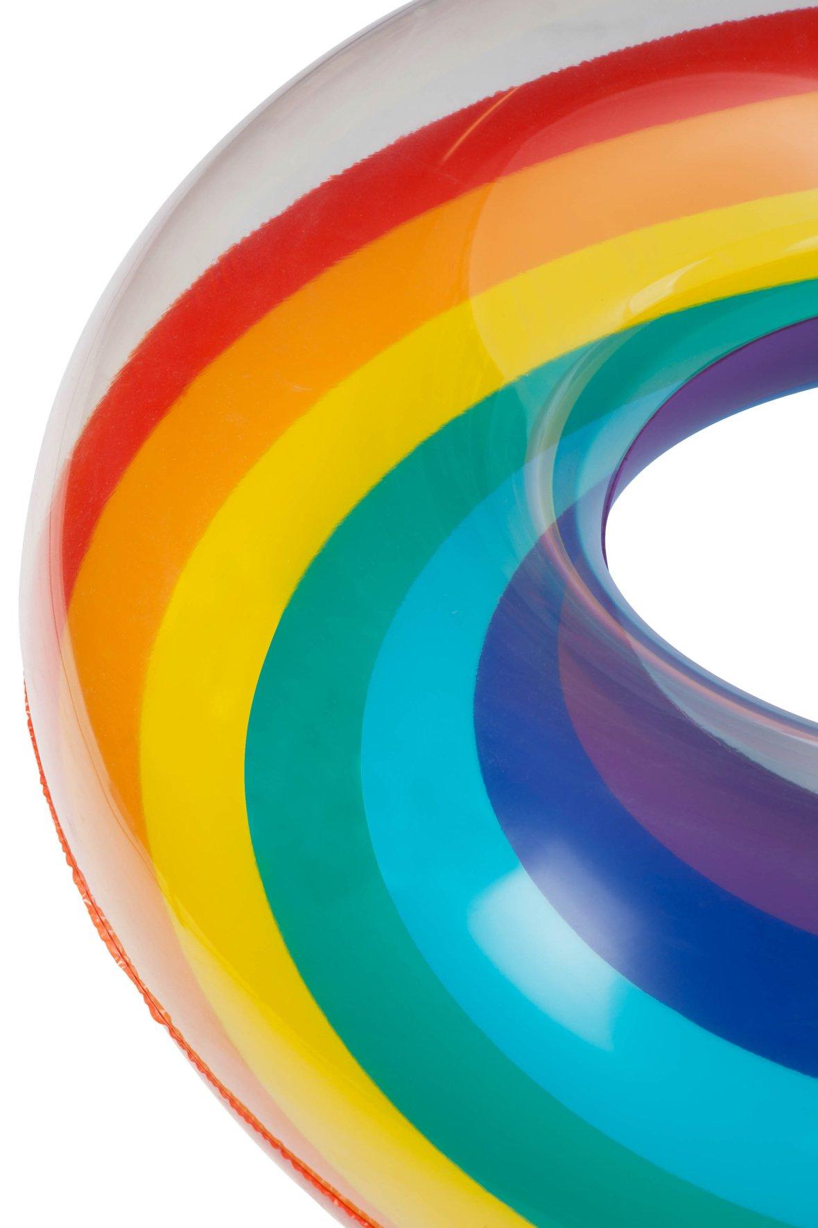 Rainbow Pool Float | Pool Ring