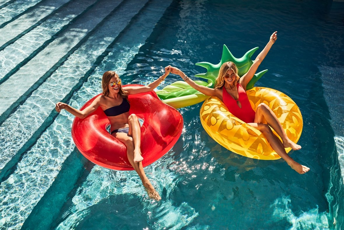 Pineapple Pool Float |Pool Ring