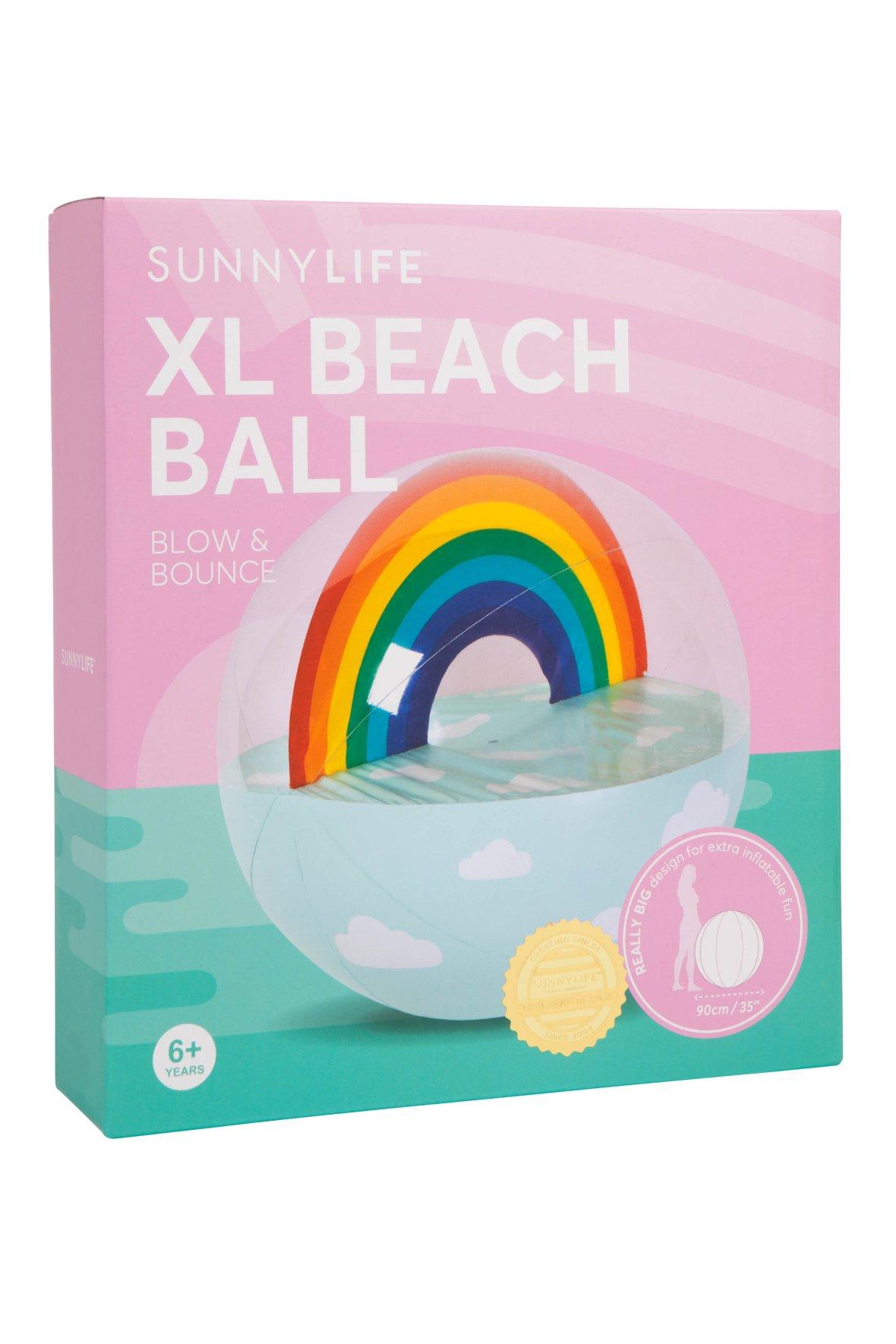 XL Beach Ball | Rainbow