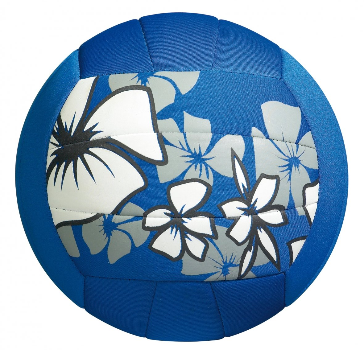 Large beach ball, blue