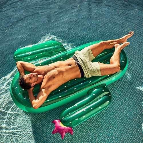 Inflatable Cactus | Lie-On Float