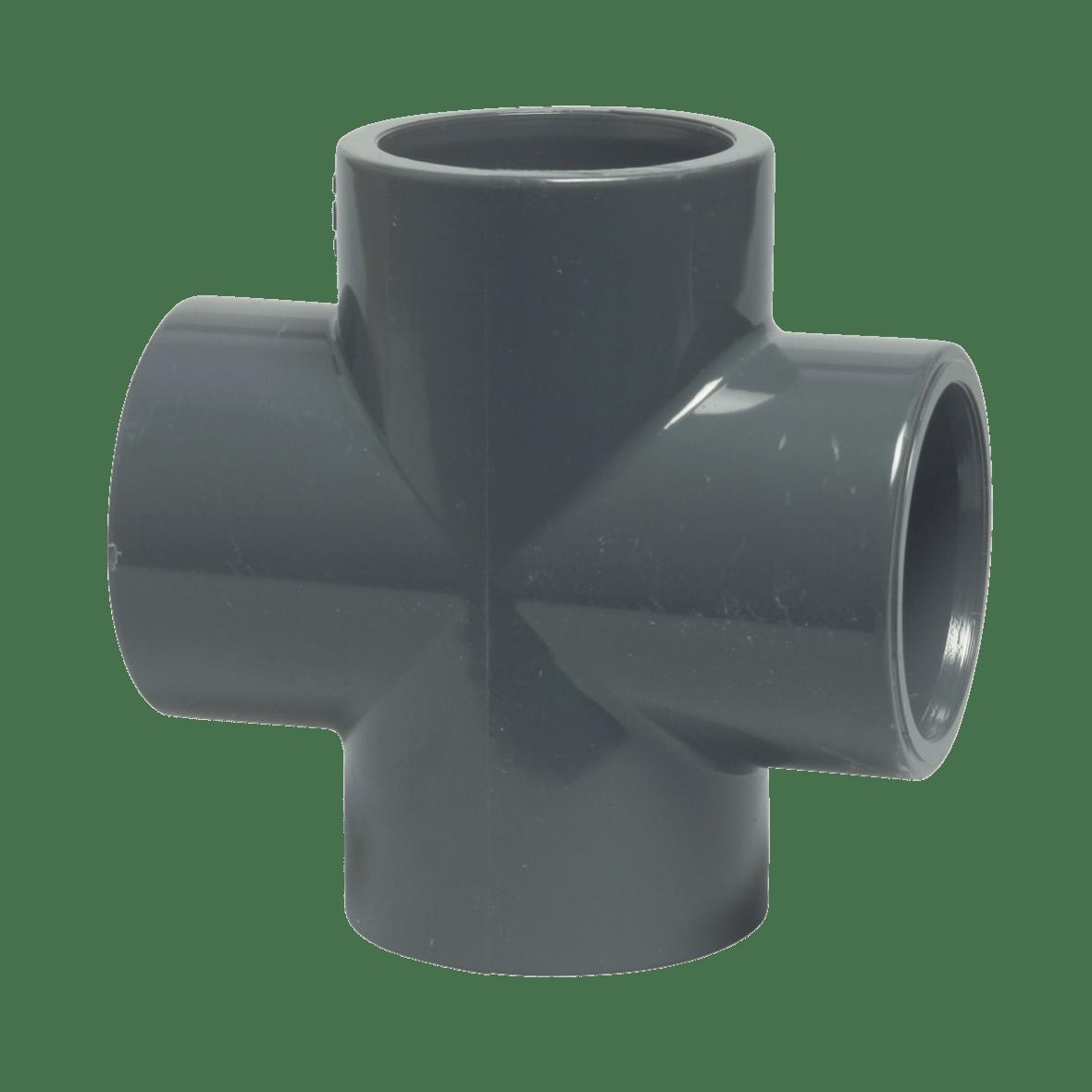 PVC cross piece - ø 50 mm