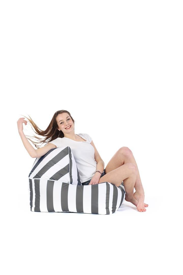 Change Me Grey / White Stripes - Duo Sit On It