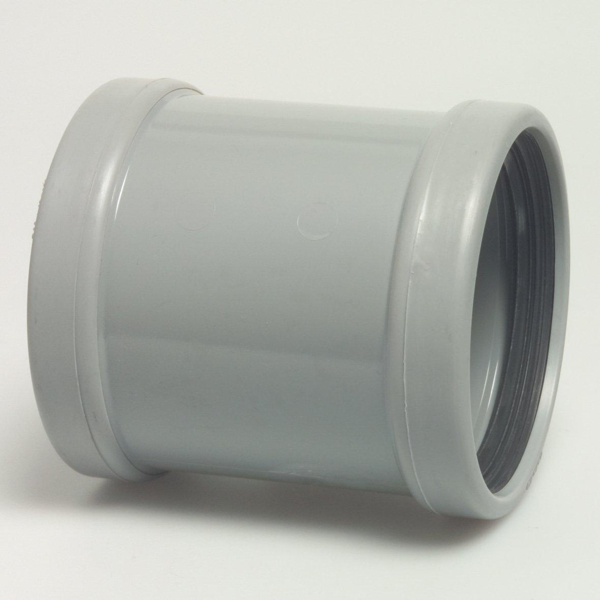 PVC push-on socket - ø 110 mm drain