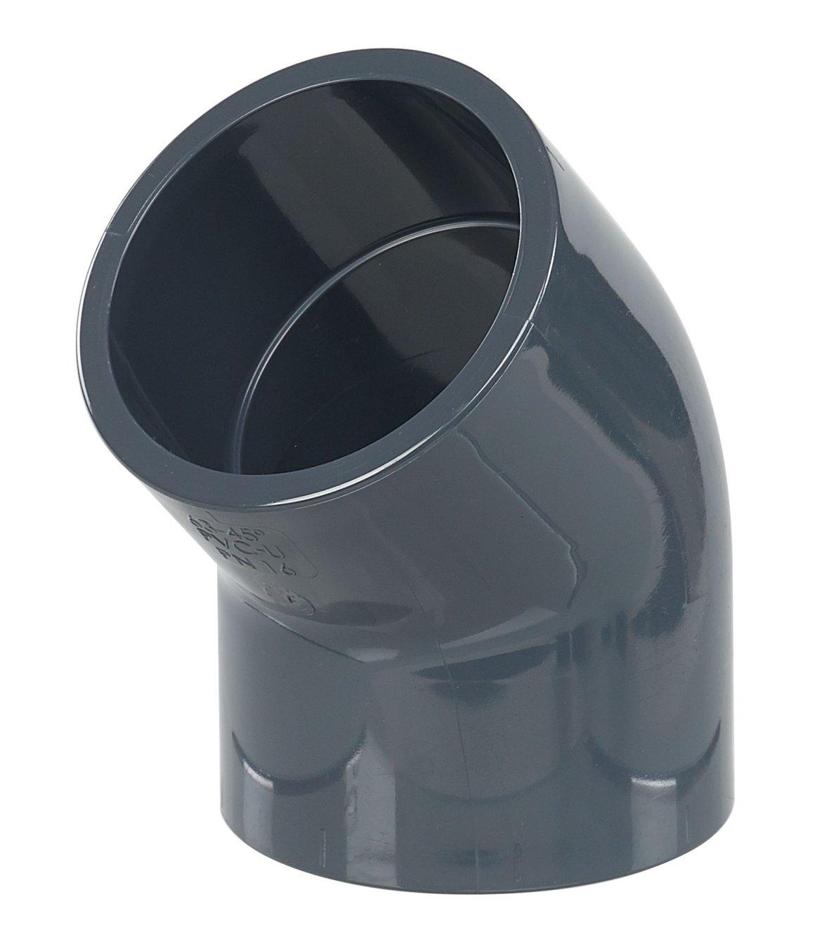 ø63 PVC 45° elbow