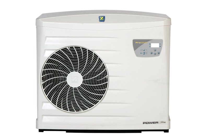 Zodiac Power First 8 heat pump, single phase