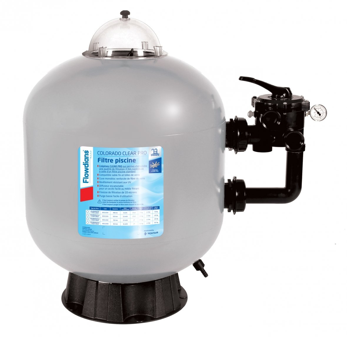 Colorado Clear Pro sand filter - 22m³/h