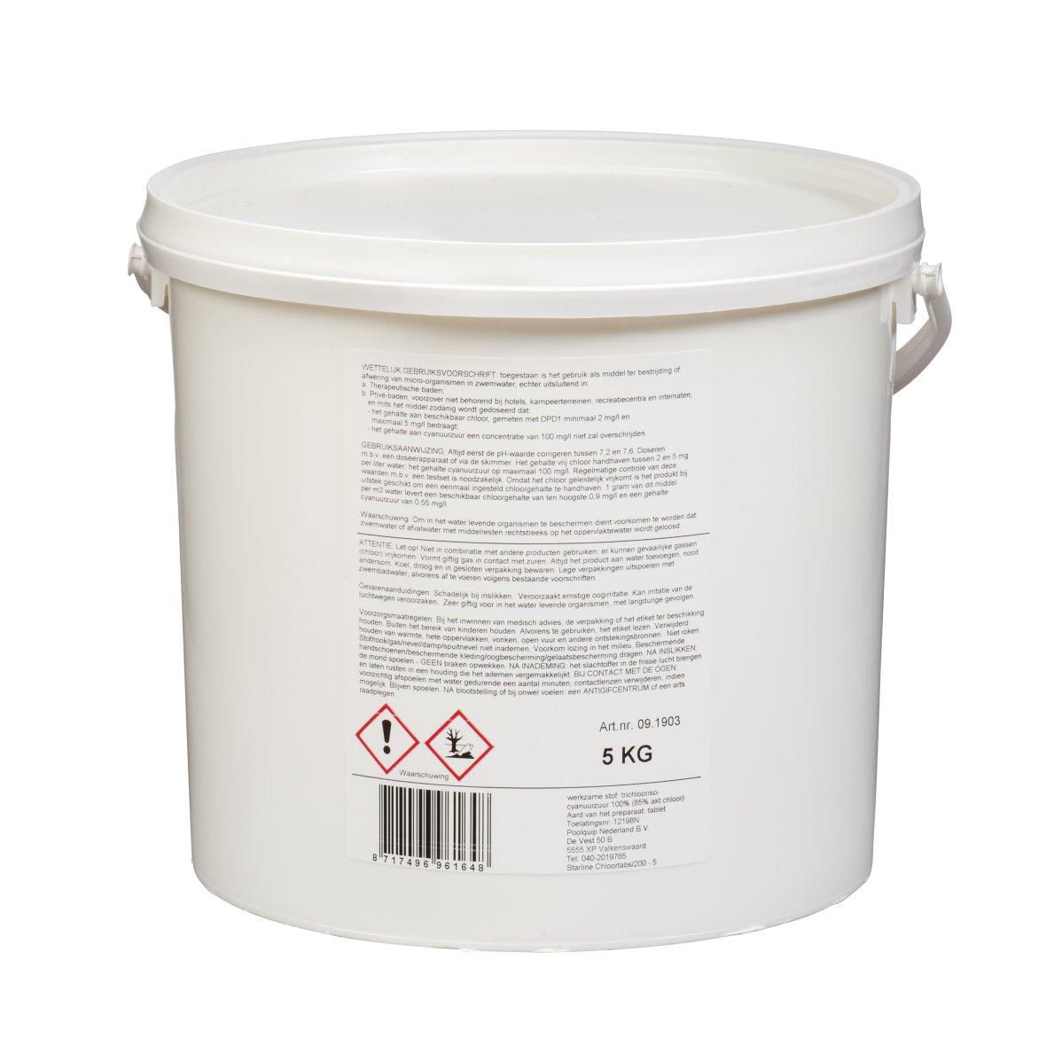 Starline Chloortabs 90/200gr - 5kg