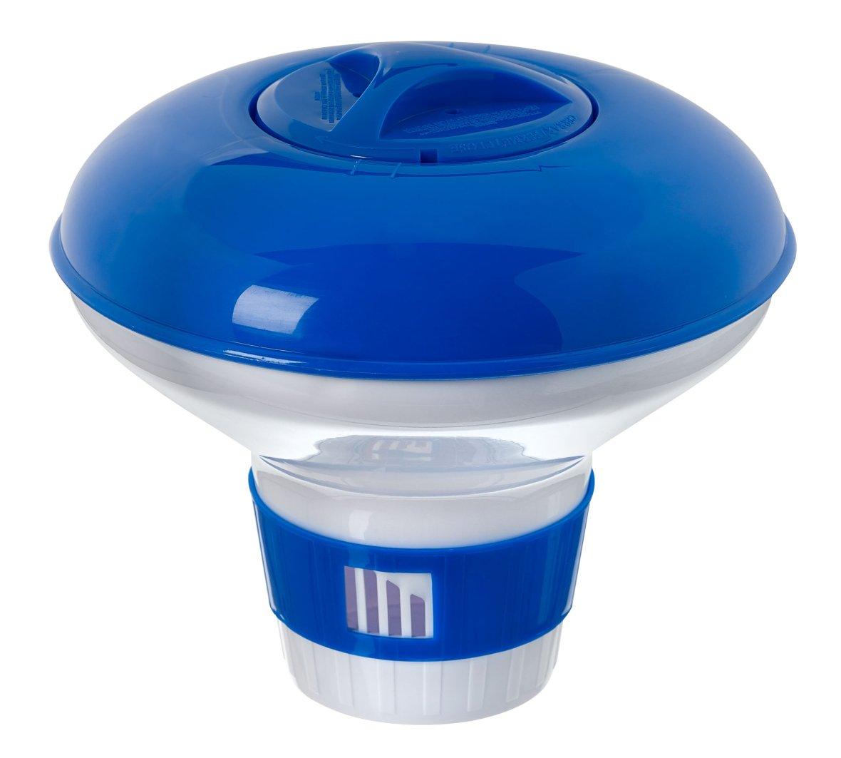 Spa chlorine floating dispenser