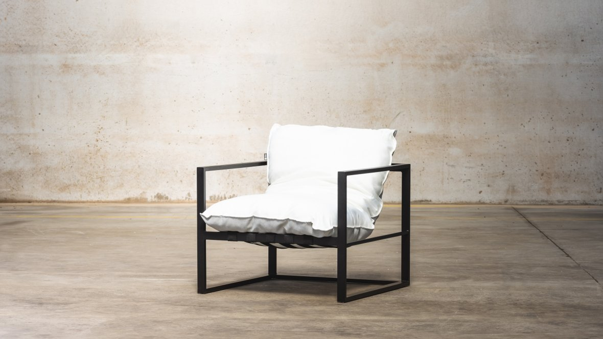 STAY deckchair | white