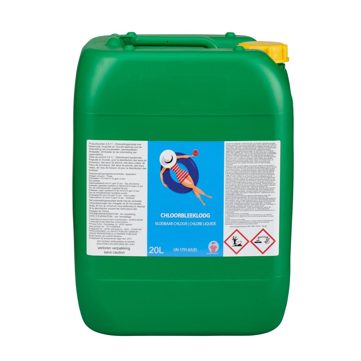 Liquid Chlorine  identical to Chlorstabil