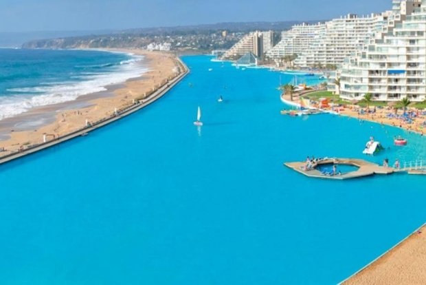 The biggest: San Alfonso del Mar, Chile