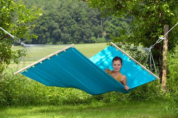 How to get into the hammock?