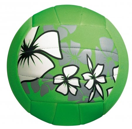 Large neopren beach ball, green