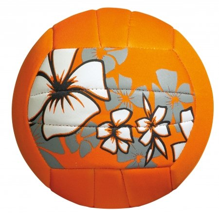 Large beach ball orange