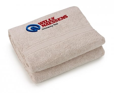 Beige Bath towel