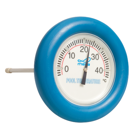 Round thermometer for pool