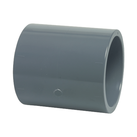 50 mm diameter PVC socket