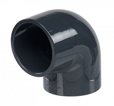 PVC 90° elbow diameter 50mm
