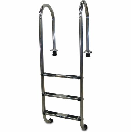 Swimming pool ladder – narrow model, 3 steps