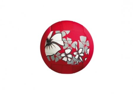 Small red beach ball