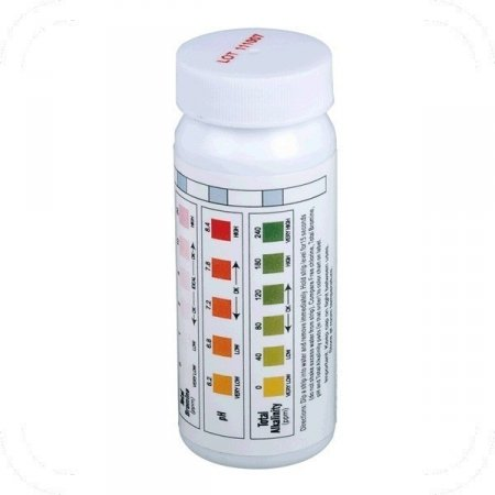 Test strips for water quality