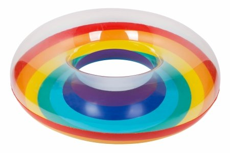 Rainbow Pool Float | Pool Ring