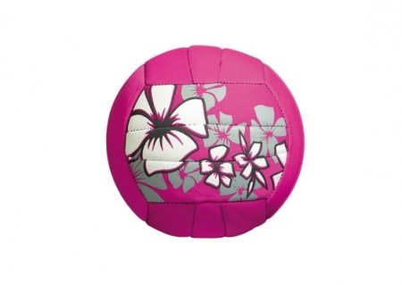Small neopren beach ball, pink