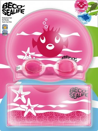 Beco Sealife swim set, pink