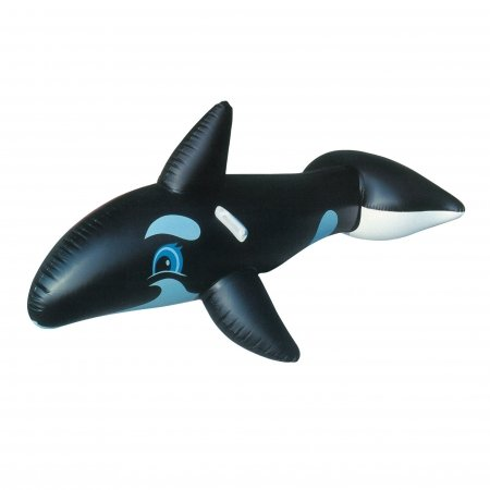 Inflatable Killer Whale with hand grips